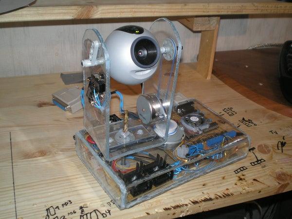 Web Controlled Surveillance Camera