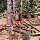 Ingenious Clothes Drying Rack for Camping
