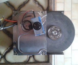 Powerfull Manageable 15k RPM HDD Grinder With Continue Rotation