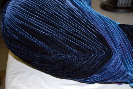 Final Peacock Pleating