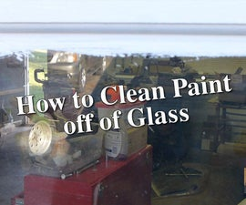 Clean Paint Off of Glass Windows