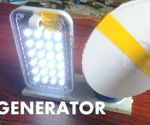 How to Make a Generator at Home - Easy Way