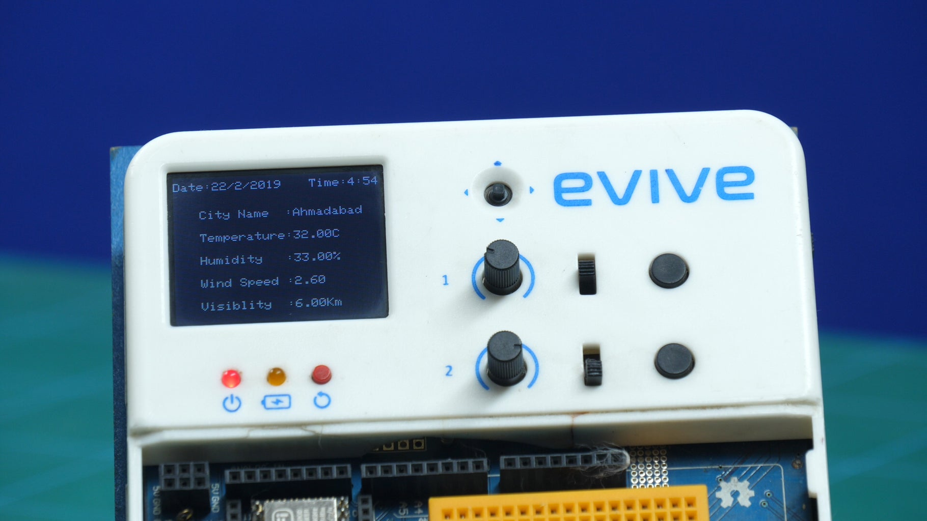 IoT Based Weather Reporting System Using Arduino