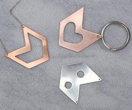Sheet Metal Jewelry Basics - Saw, File, Sand, & Polish