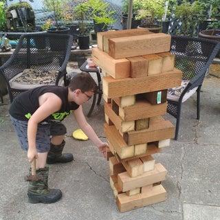 How to Make a Giant Jenga Game