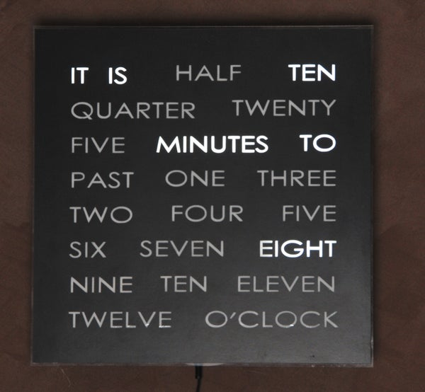 The Wordclock Grew Up!