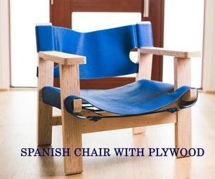 西班牙椅子用胶合板制成
