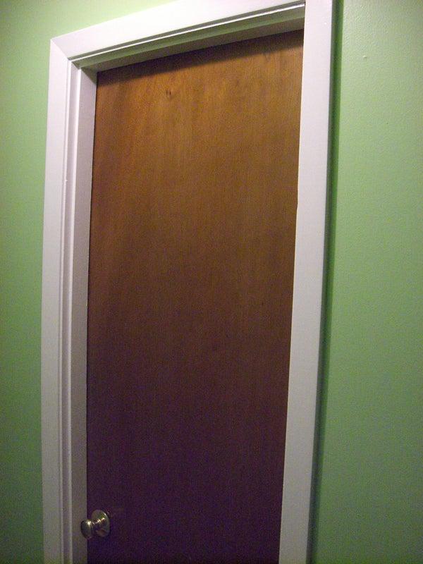 How to Open a Locked Door the Macgyver Way.