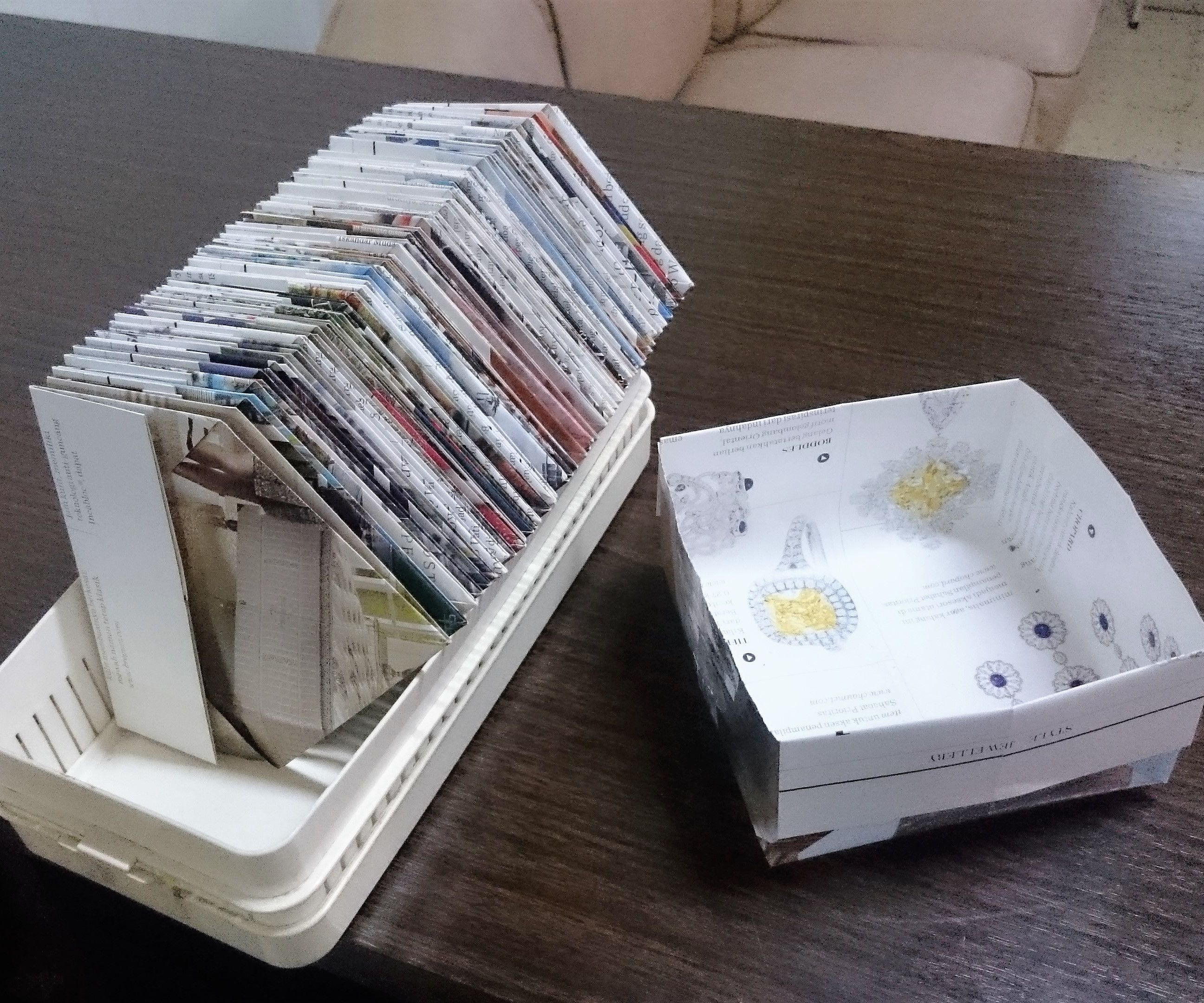 Multifunction Paper Tray