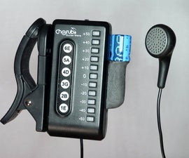 Guitar Tuner for the Blind (using an Arduino)