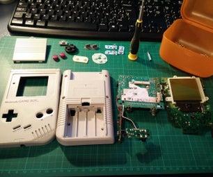 Taking Apart a Nintendo Gameboy