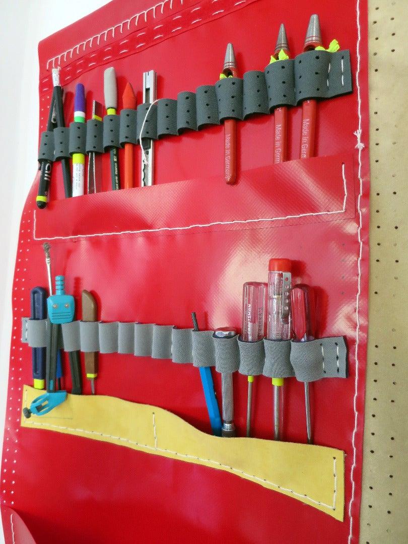 Example: Pegboard Fabric Tool Organizer