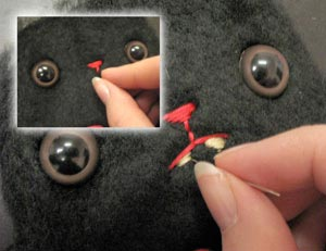 Embroider the Face