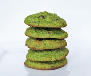 Mint Chocolate Chip SURPRISE Cookies