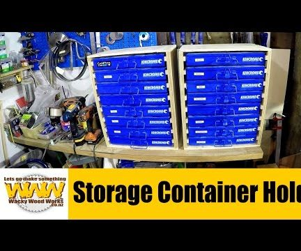 Storage Container Holders