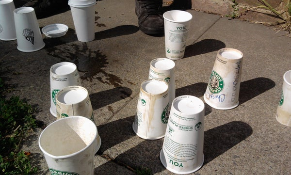 Coffee Cup Challenge! Water Purifier