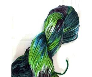 染色棉纱 - 逐步教程