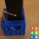Easy Desktop Item Holder Made With TinkerCAD