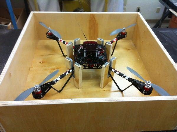 How to Build a Storage/transportation Box for Your Quadcopter.