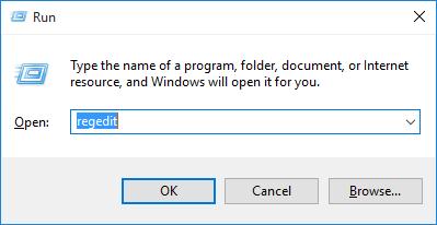 Open the Registry