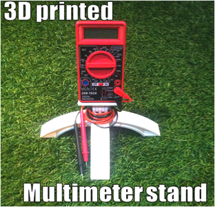 3D Print a Multimeter Stand