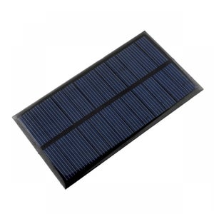 Materials Used to Build Solar Lighting System