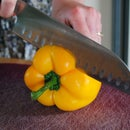 How to Easily Cut a Bell Pepper