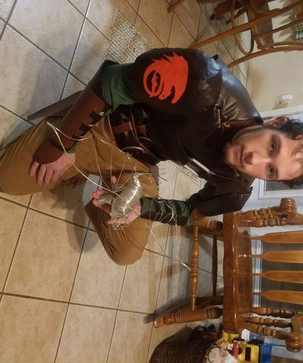 Authentic Costume of Hiccup From How to Train Your Dragon!