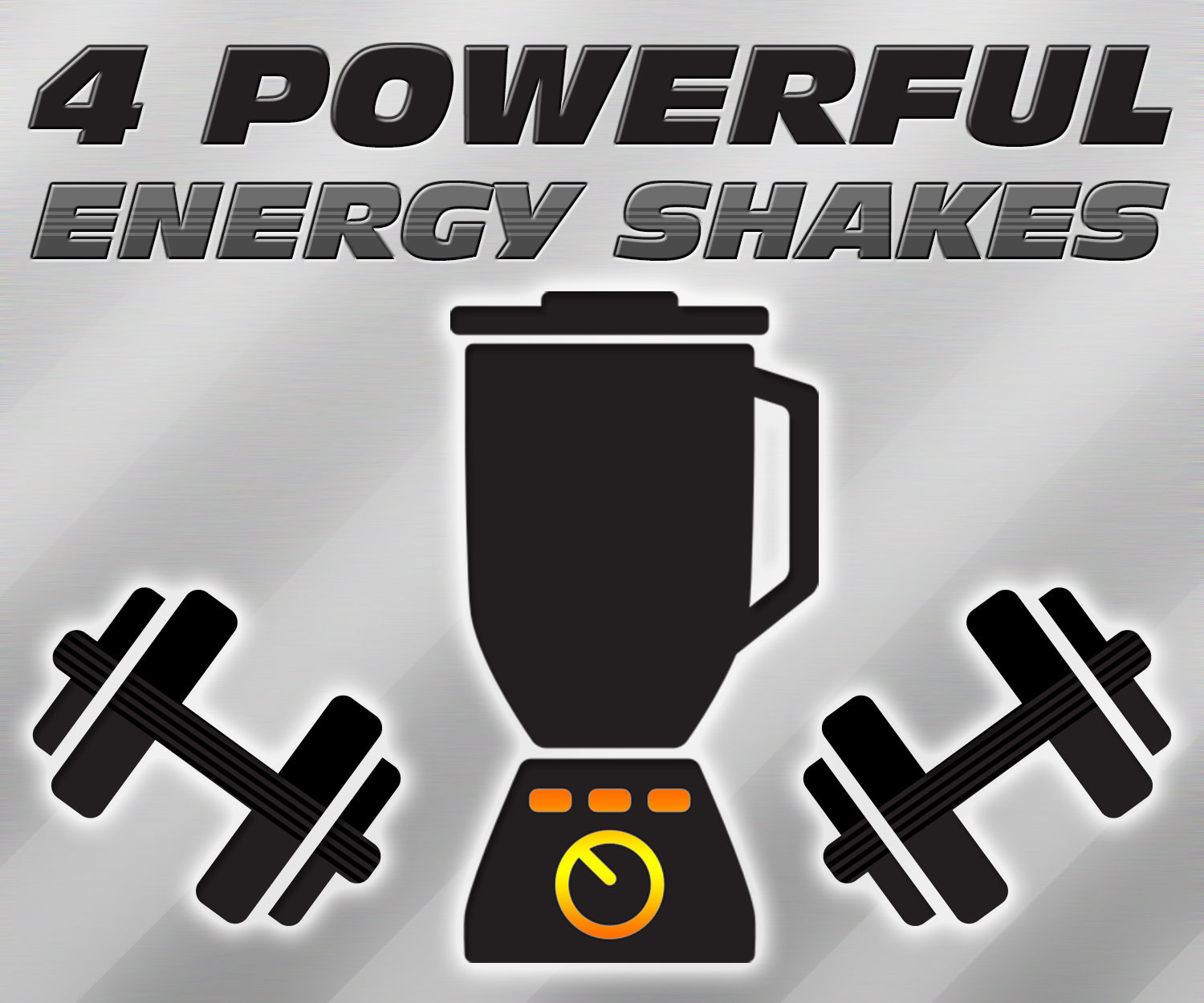 4 Powerful Energy Shakes