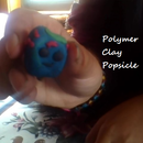 Polymer clay popsicle