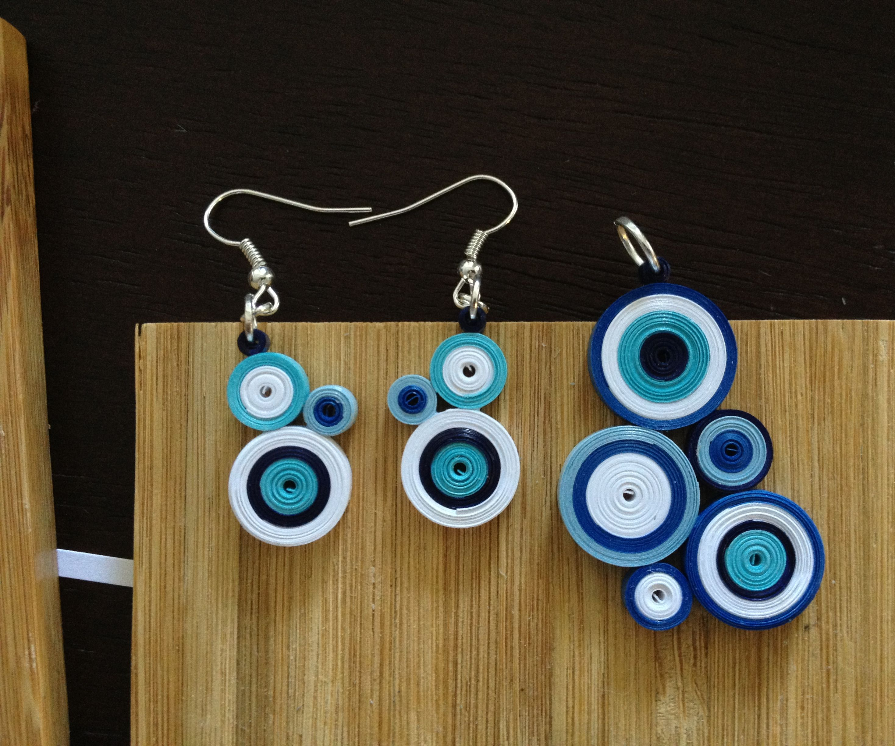 Quilled Paper Jewelry
