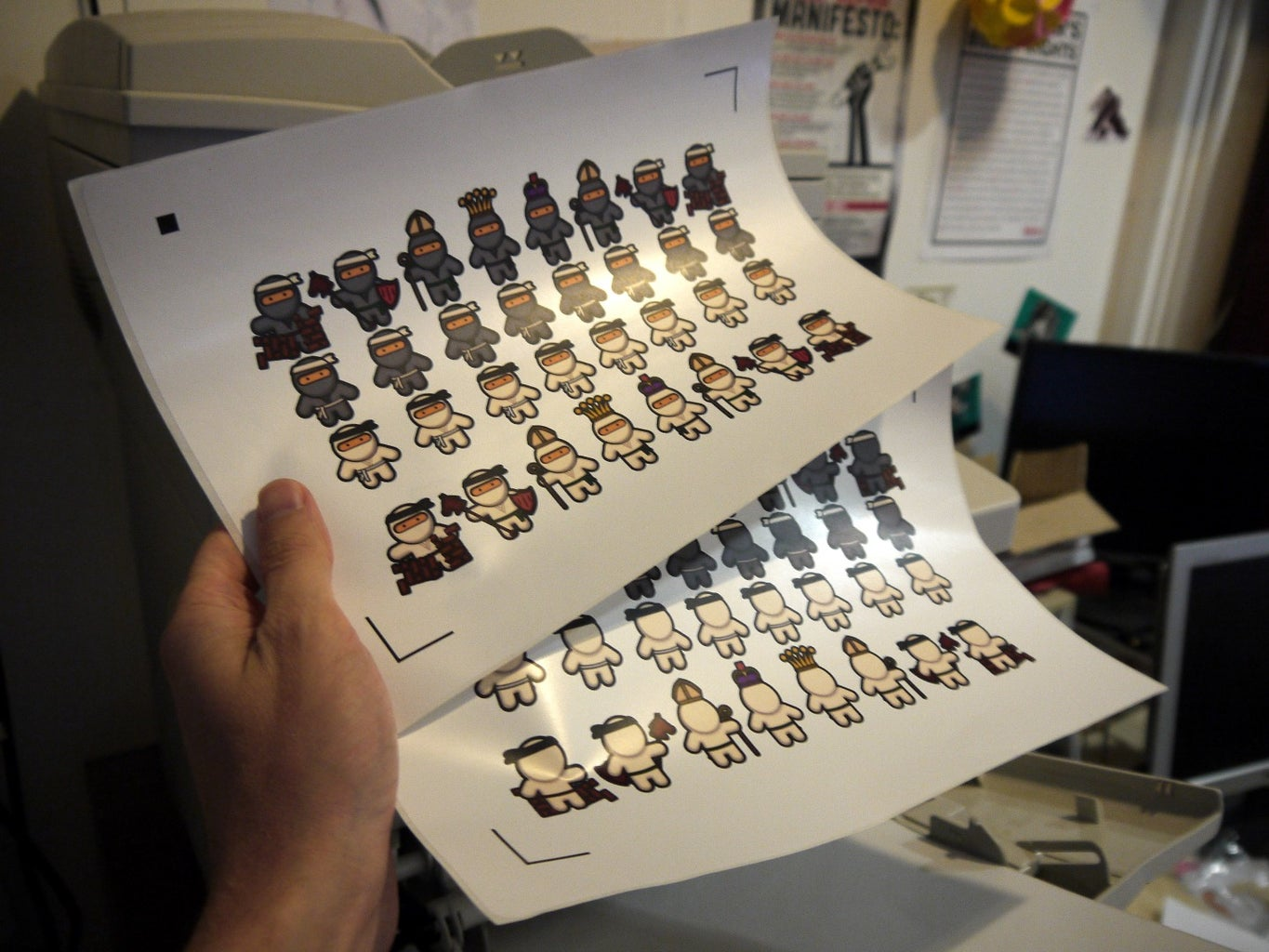 Printing Out the Ninjas