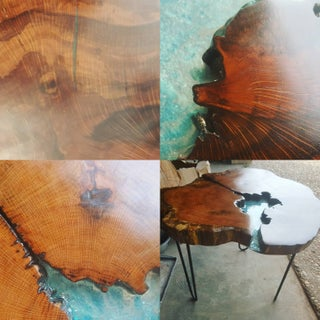 Live Edge Resin Table. How to Transform Reclaimed Live Edge Into a Piece of Art!