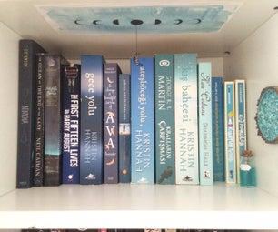 Moon Bookshelf Decor!