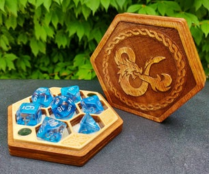 Laser Cut Magnetic Dice Boxes