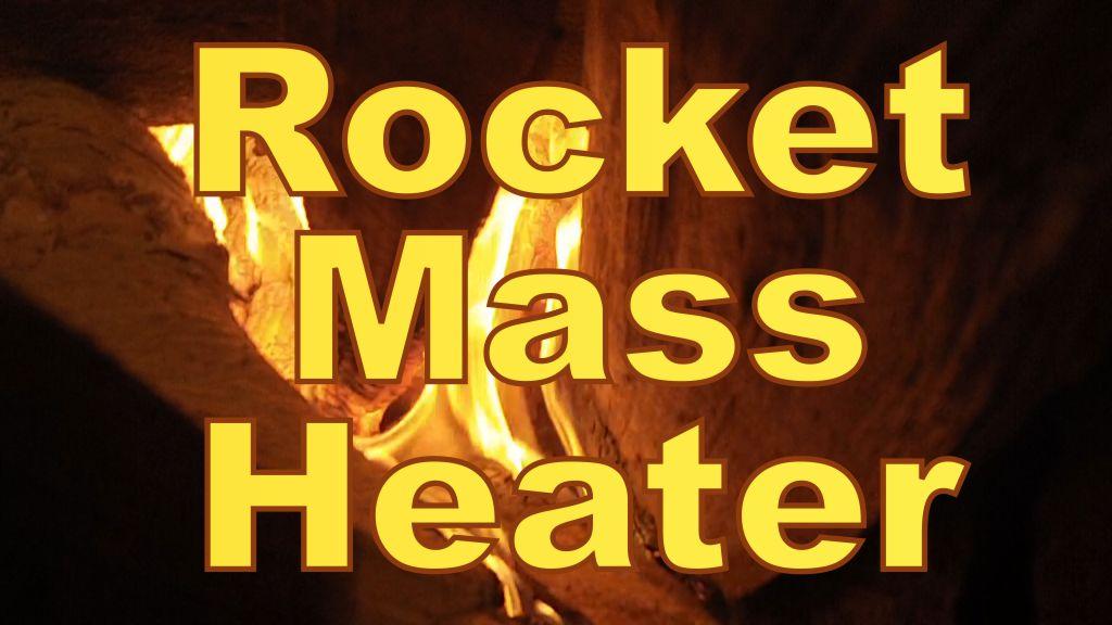 Geodesic Dome Greenhouse - Part 10 - ROCKET MASS HEATER