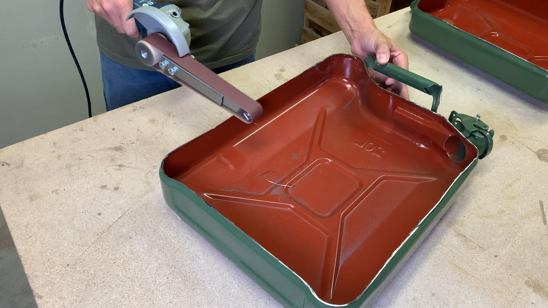 Cleaning All Sharp Edges