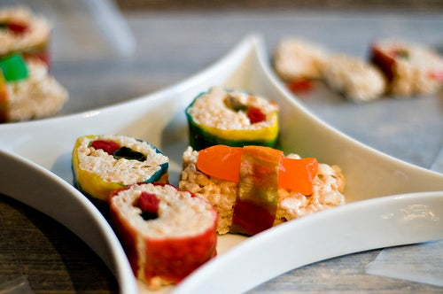 Candy Sushi - a Great Birthday Party Activity & Treat