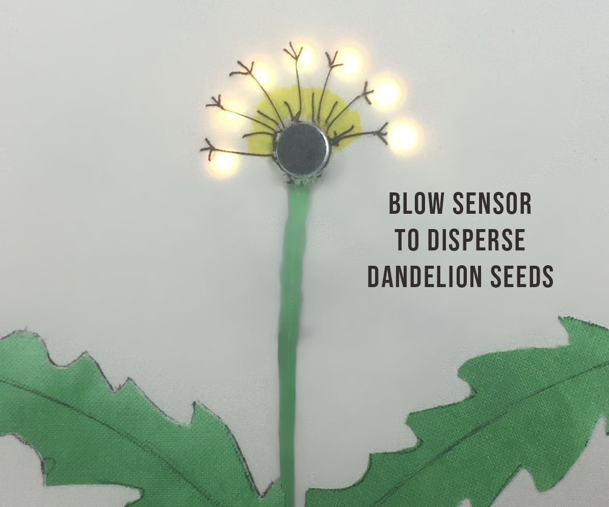 Interactive Dandelion