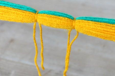 Tie Off the Poms