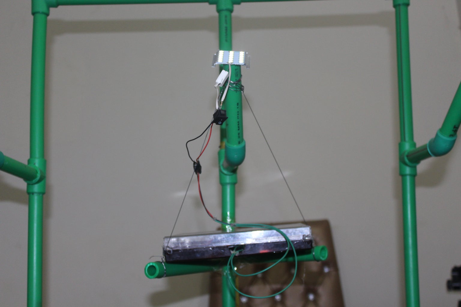 CONNECTING AND WORKING OF LAMP