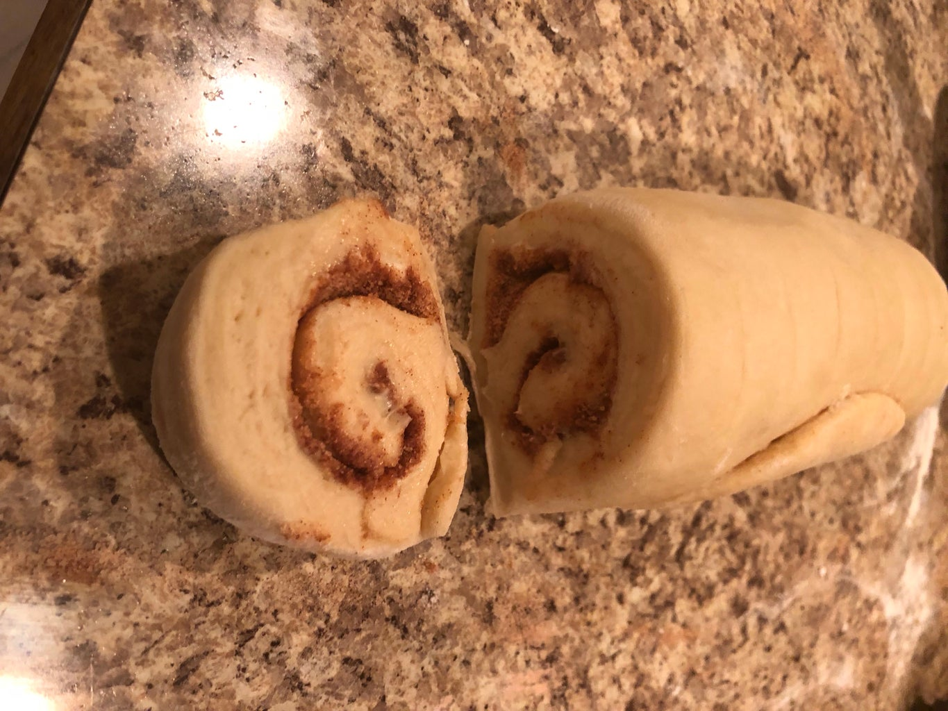 Rolling Up the Cinnamon Roll