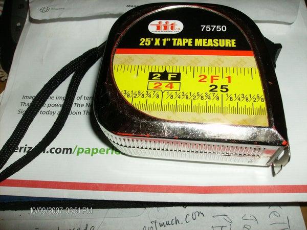 UPDATED: Tape Measure Repair - Added Repair for Lufkin Pee Wee (step 4 Onwards)