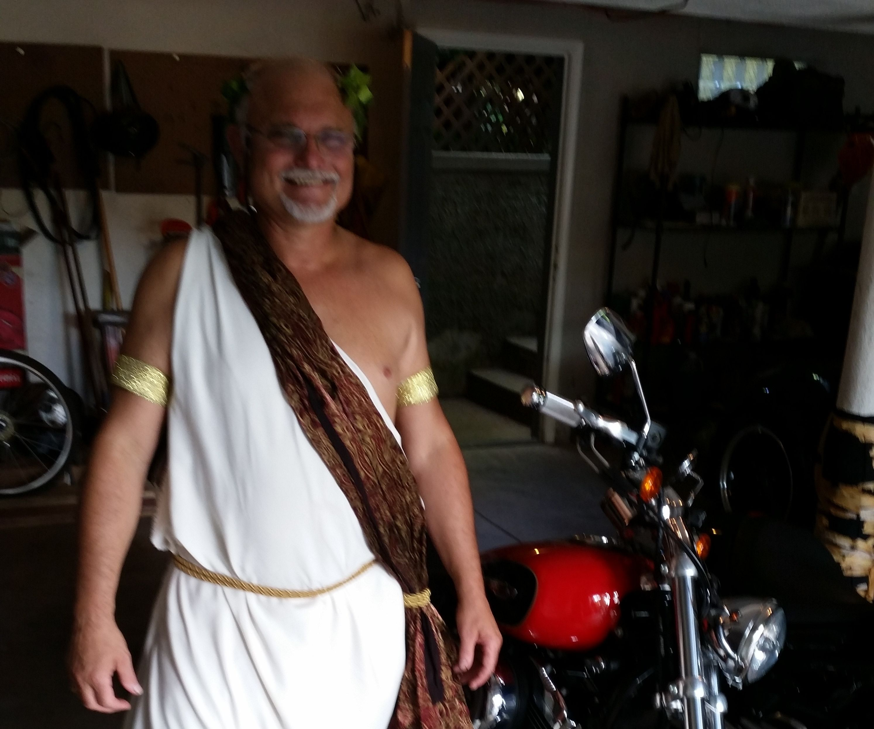 Greek Styled / Roman Toga DIY