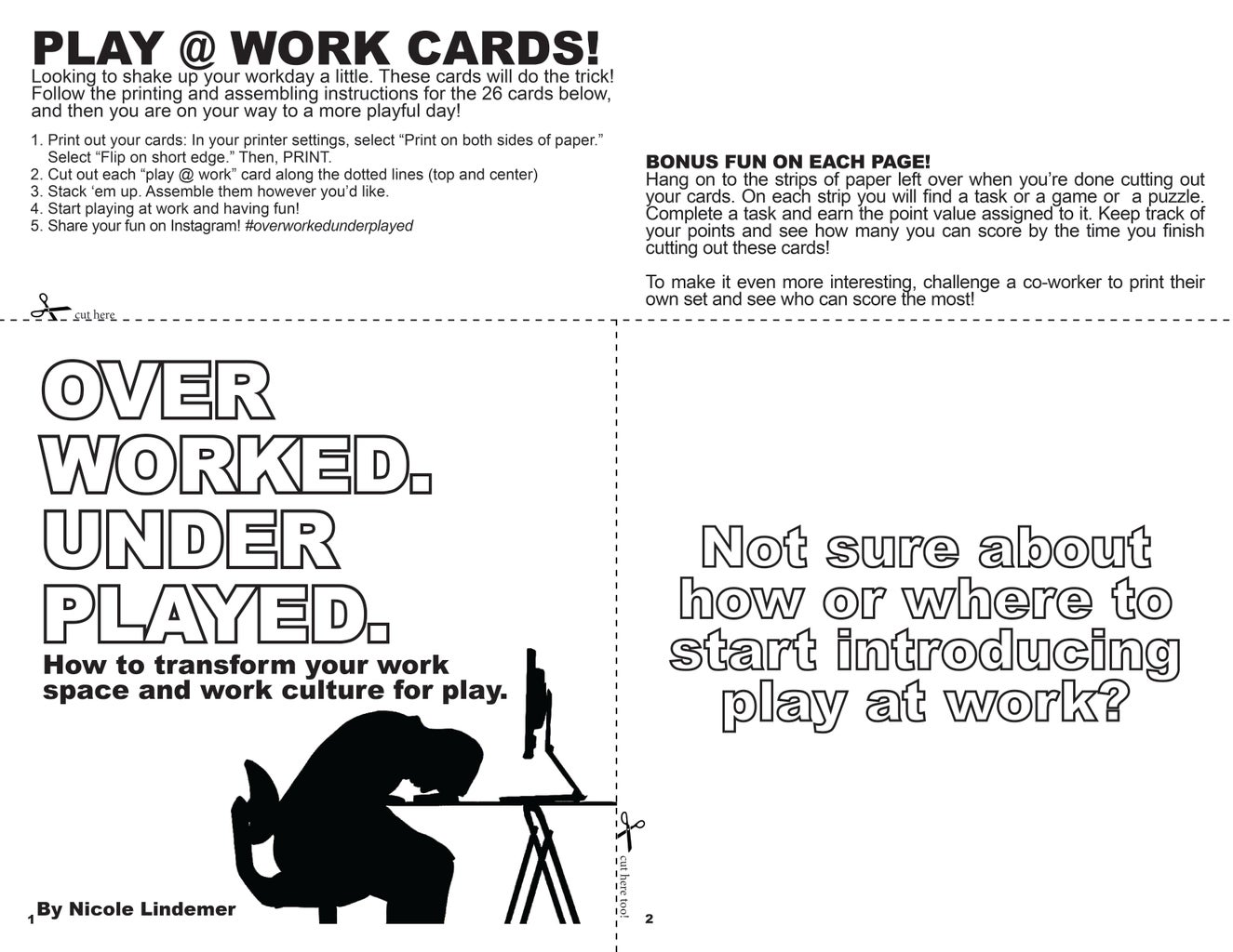 Print Out Your Cards