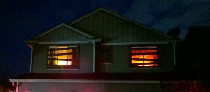 Flaming Windows