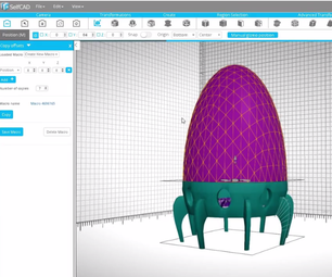 Creating  a Lamp in SelfCAD for 3D Printing