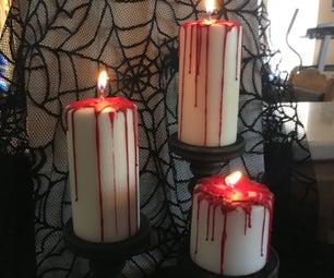 DIY Bloody Candles
