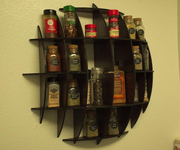 Massironi Shelf - Spice Jar Sized