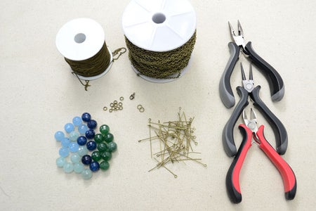 Supplies Needed in the Necklace Design: